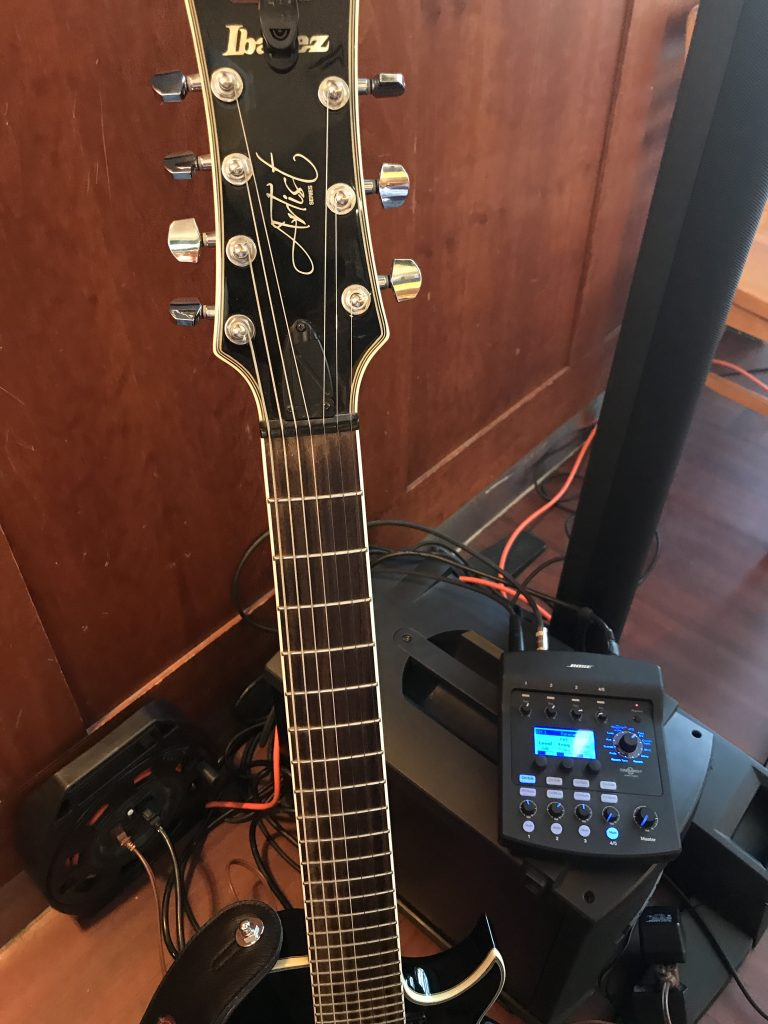 jazz guitar and vocals