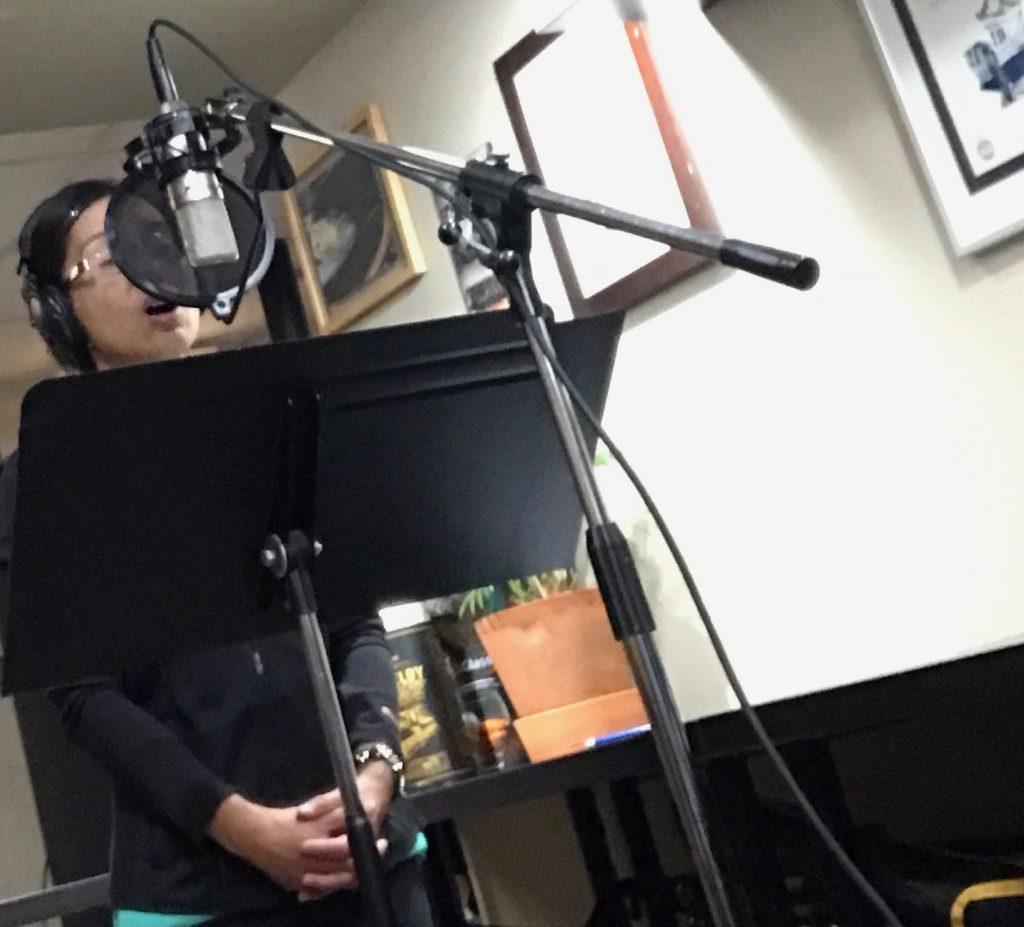 Asian Woman Singing
