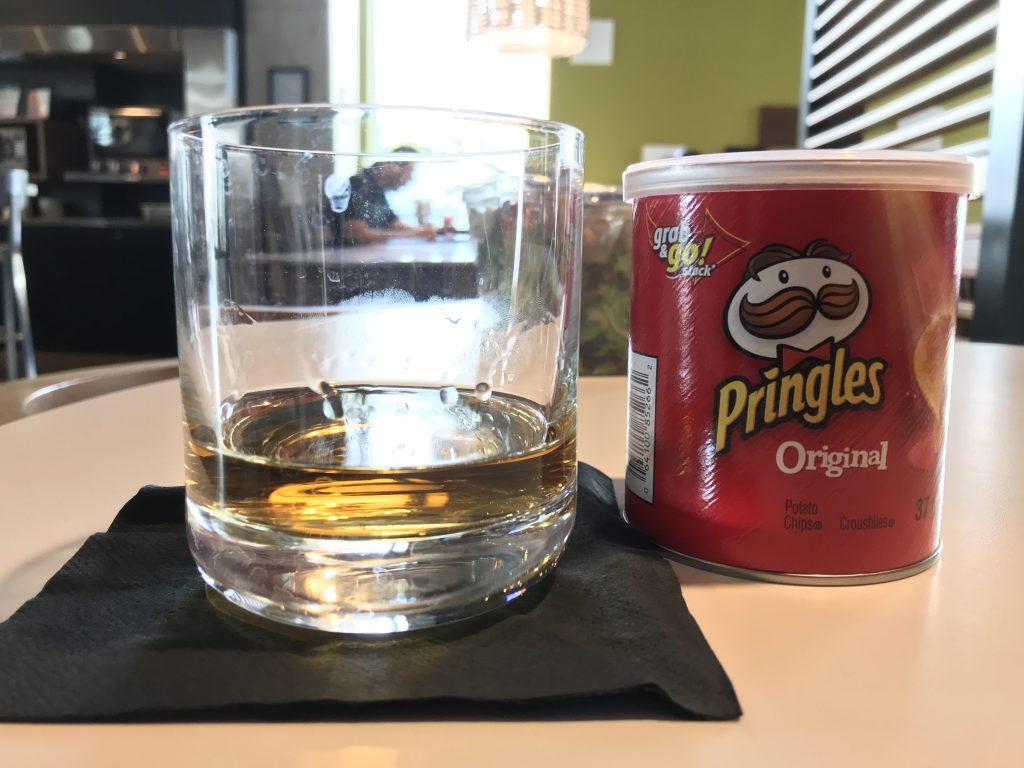 Irish Whisky and Chips
