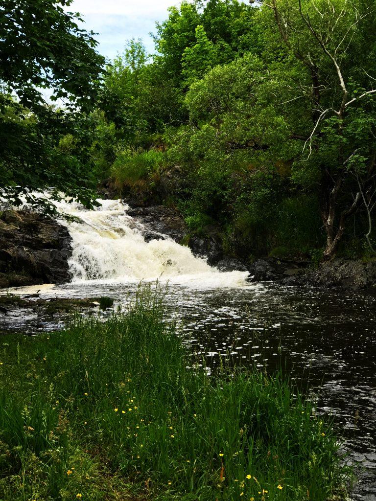 last waterfalls on Rennie's Mill River